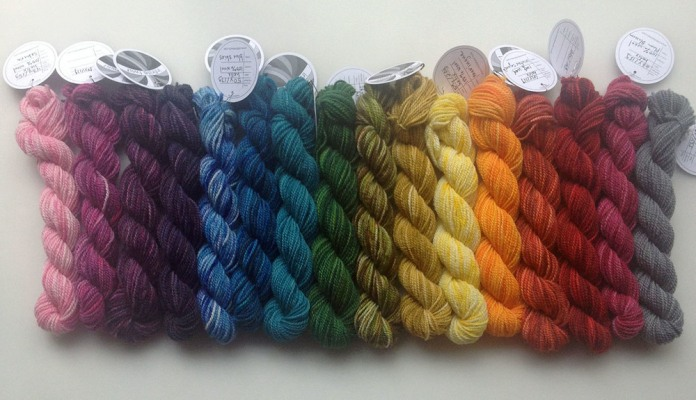 Gradient of Helix Mini-skeins