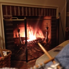 A wonderful friend shares her wonderful fire!