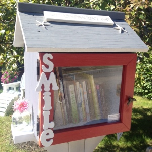 Smile: And share a book!