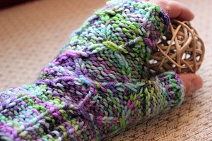 Project Wraps and Ridges Mitts 4