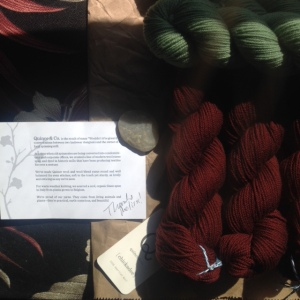 Receiving the Yarn!