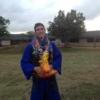 G-Man at Graduation