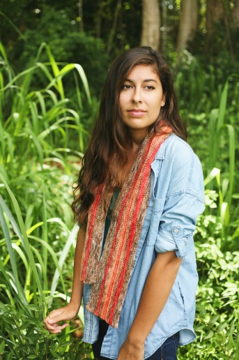 Loose or tied, even on Kauai a scarf adds something to an outfit!