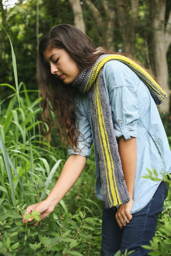 Classic wrap around your neck style