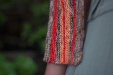 Close up of Oahu: Free Pattern By MSkiKnits