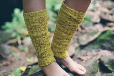 Cairns legwarmers in Infinite twist Helix
